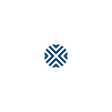 logo x abstract