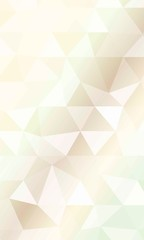 Color triangle Polygonal Background. Vector illustration