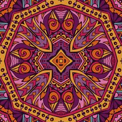 ethnic vector seamless pattern design geometric surface