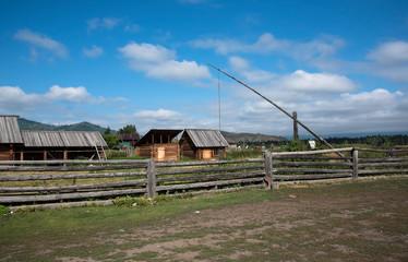 Upper Uimon village, Altai