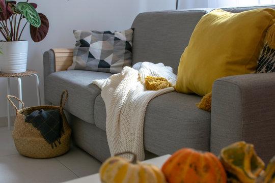 Scandinavian autumn inspired home decor