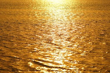 abstract golden water background