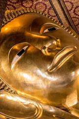 Big Buddha Bangkok Thailand Statue Kopf