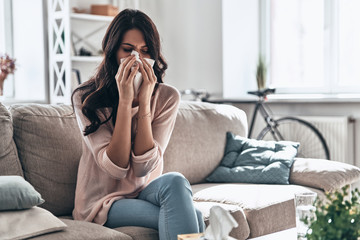 Cold and flu.  Wall mural