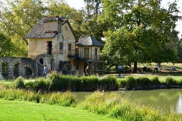 Versailles; France - october 14 2018 : he Marie Antoinette estate