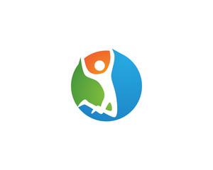 Healthy Life Logo template vector icons