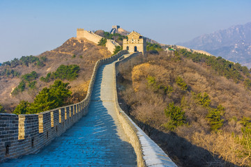 The Great Wall of China, section of Badaling, China