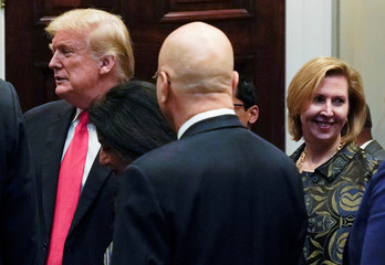 White House Deputy National Security Advisor Mira Ricardelparticipates in Diwali ceremony at the White House in Washington