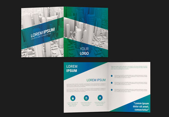 Square Business Brochure Layout