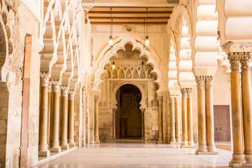 Islamic palace, Zaragoza, Aragon, Spain