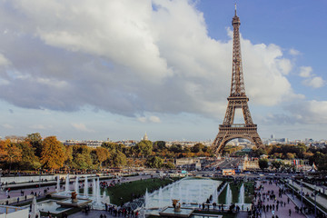 inspiring view of paris, france