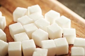 Sugar cubes background