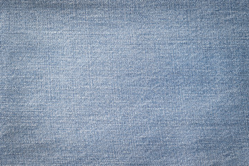 Blue jeans denim fabric textile texture background for National denim day or month.
