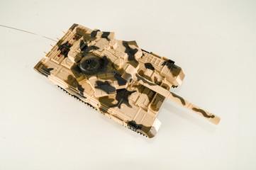 Scale model of a german tank
