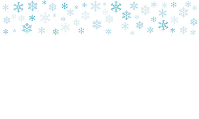 pattern of snowflakes. Vector eps-10