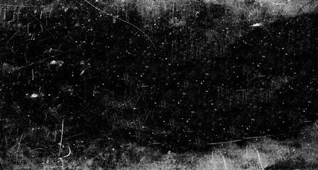 Dark scratched grunge background, old film effect Fototapete
