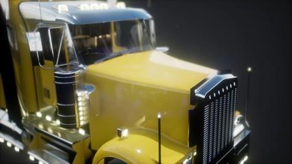 Bright American Lorry Track