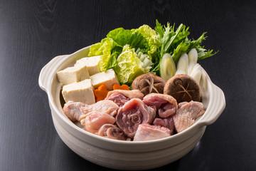 鶏鍋~水炊き Fototapete