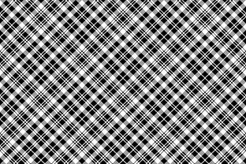 Tartan black watch pixel plaid seamless pattern
