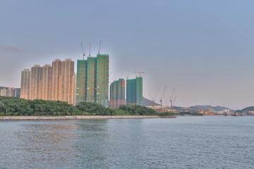 the Junk Bay, Tseung Kwan O bay LOHAS Park
