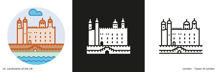 Tower of London Icon