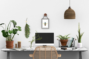 botanical studio - boho - urban jungle