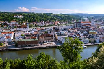 Germany, Bavaria, Passau, city view