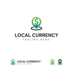 Local Currency logo designs template, Finance logo template