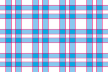 checkered background of stripes in pink,  blue and white