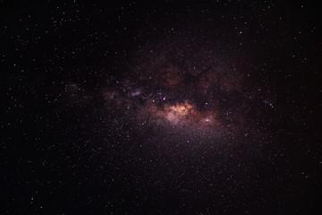 Spoed Foto op Canvas Heelal Stardust in dark night