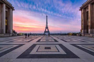 Fotomurales - Place du Trocadéro in Paris, Frankreich