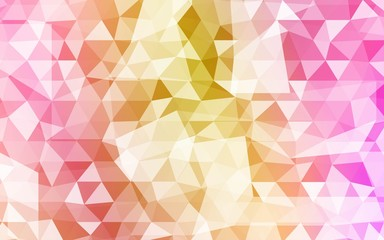 Overlapping triangles patterns. Gradient banner. vector illustration. for the design, printing, business