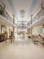 luxury lobby interior