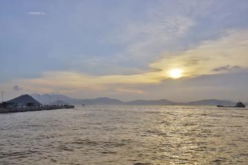 a  Belcher Bay ,Victoria Harbour hong kong