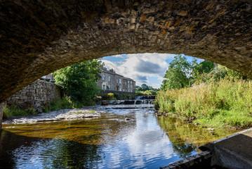 Yorkshire Village Bridge.