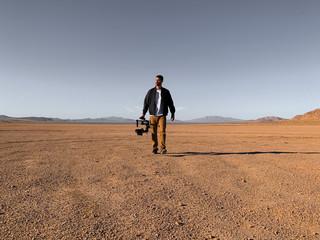Filmmaker in the Desert