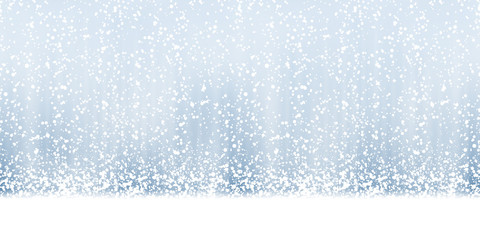 seamless snow fall background
