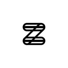 Z icon logo vector download