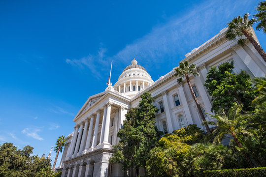 California State Capitol building, Sacramento, California;