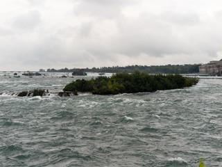 Niagara River above Niagara Falls