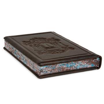 Brown Leather Prayer Book Siddur