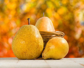 image of pear closeup