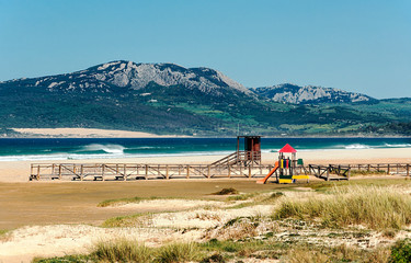 Tarifa beach in Andalusia