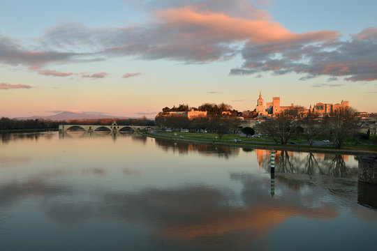 Tramonto Avignone