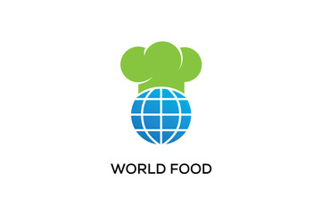 WORLD FOOD LOGO DESIGN
