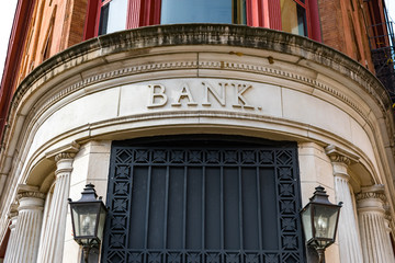 Old Bank Building Exterior
