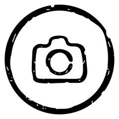 Camera icon. Photo Camera. Minimalist style. Eps 10