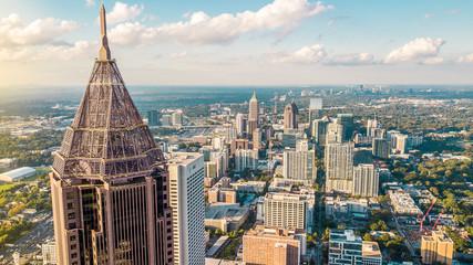 Midtown Atlanta Aerial Fotomurales