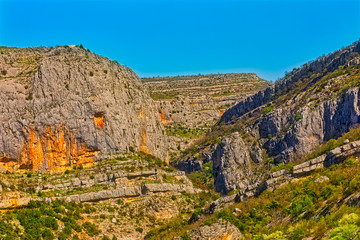 River Cikola canyon