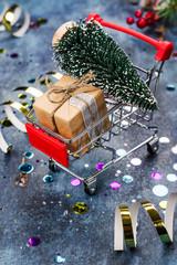 Christmas sale concept